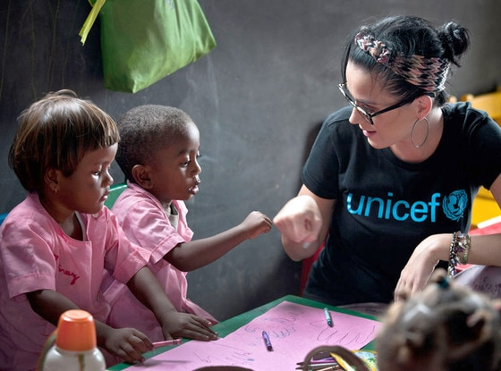 Katy Perry, UNICEF