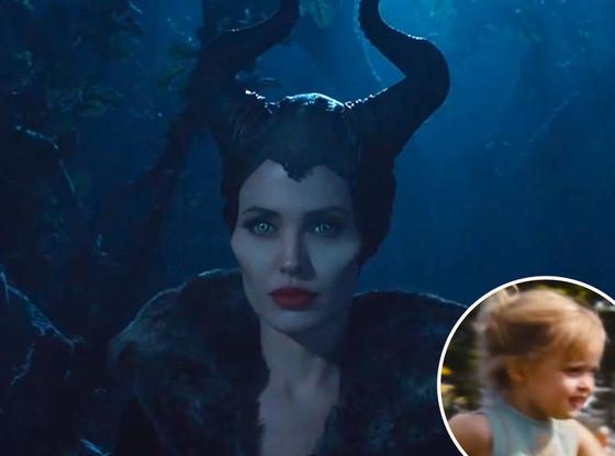 Vivenne Jolie-Pitt, Angelina Jolie, Maleficent