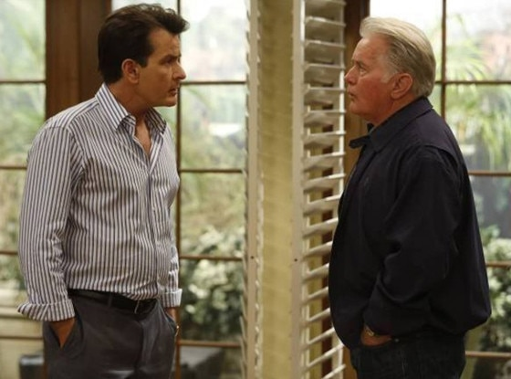 Charlie Sheen, Martin Sheen, Anger Management