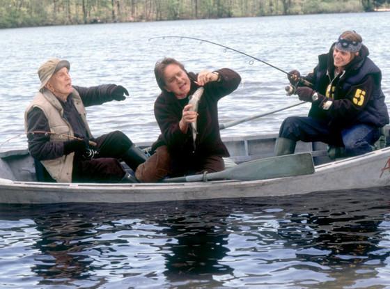 Kirk Douglas, Michael Douglas, Cameron Douglas, It Runs in the Family