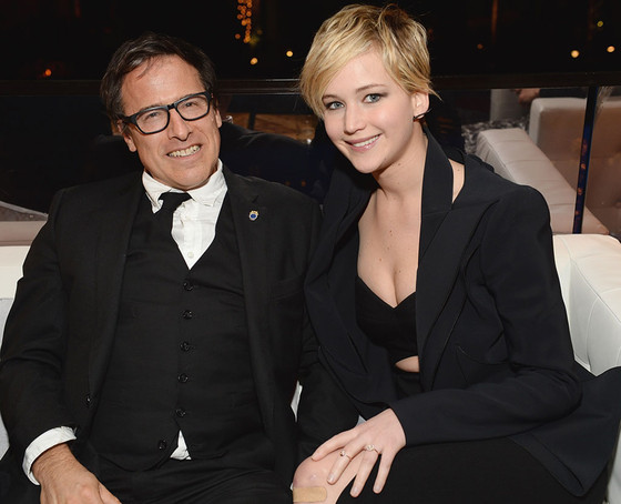 David O. Russell, Jennifer Lawrence