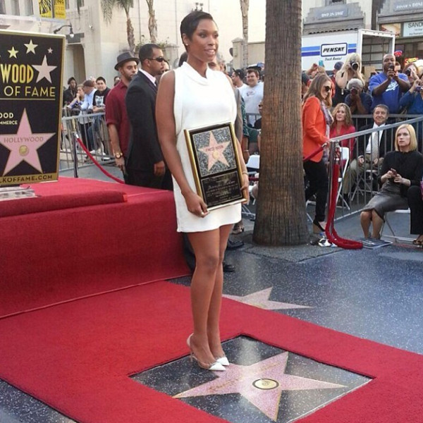 Jennifer Hudson, Walk of Fame Star, Instagram