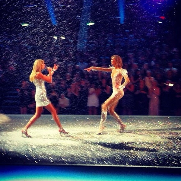 Victoria's Secret Fashion Show, Karlie Kloss, Taylor Swift, Instagram