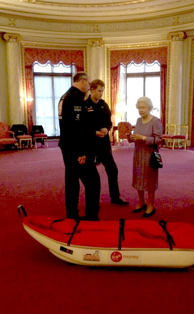 Prince Harry, Queen Elizabeth