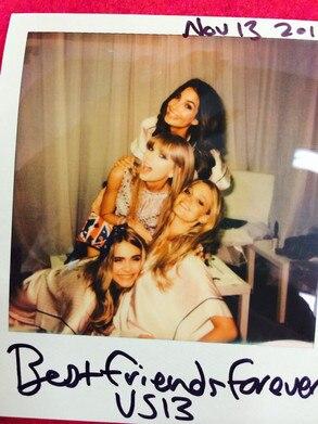 Taylor Swift, Victoria Secret Models