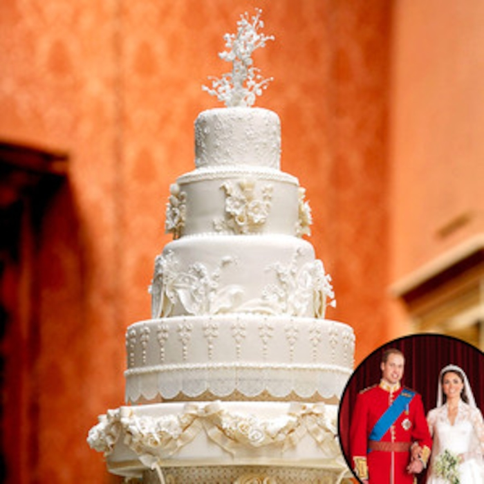 Sweet Royal Wedding Update Guess How Much A Piece Of Kate Middleton And Prince William S Cake Sold For At Auction E News