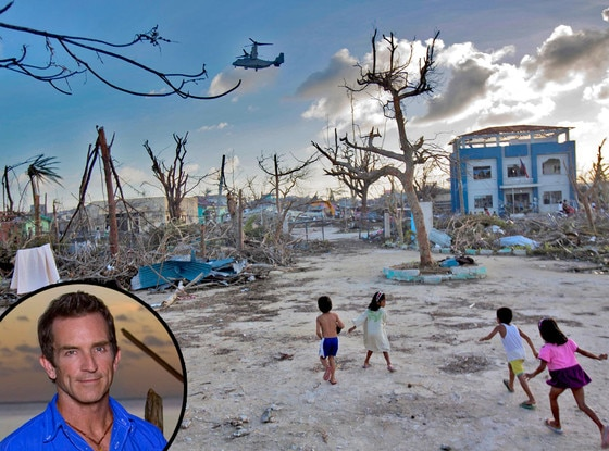 Phillippines, Typhoon Haiyan, Jeff Probst