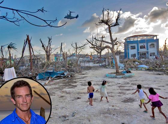Phillippines, Typhoon Haiyan, Jeff Probst