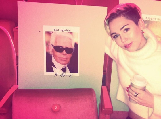 Miley Cyrus, Twitter