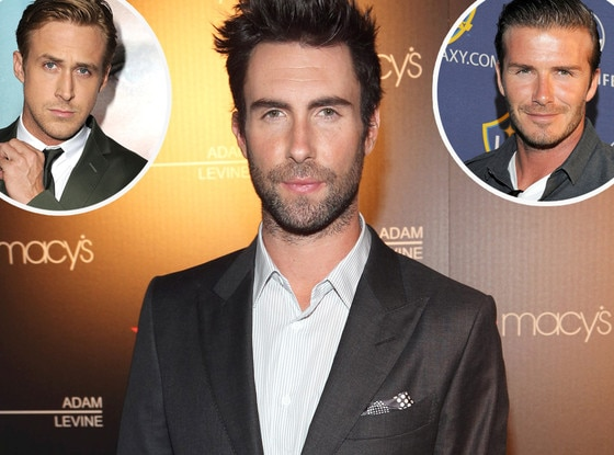 Adam Levine, Ryan Gosling, David Beckham