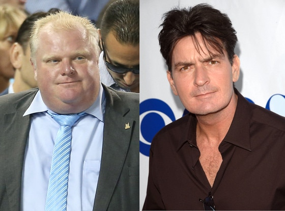 Rob Ford, Charlie Sheen