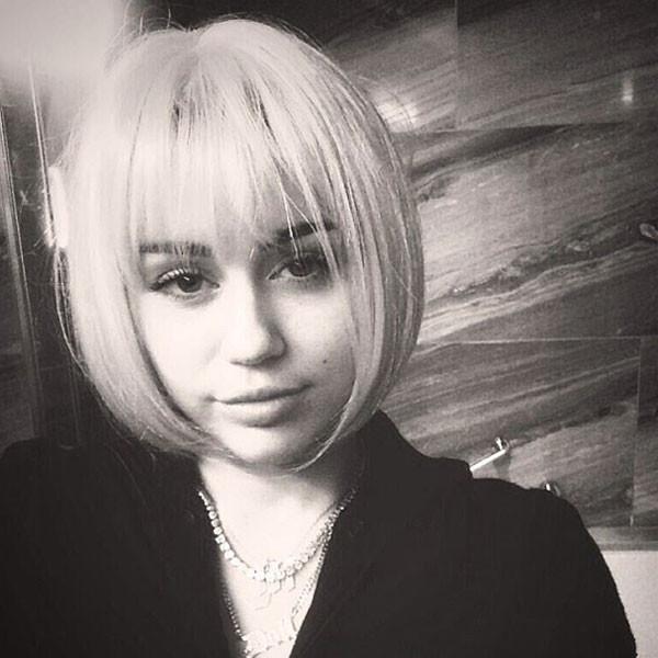 Miley Cyrus, Wig