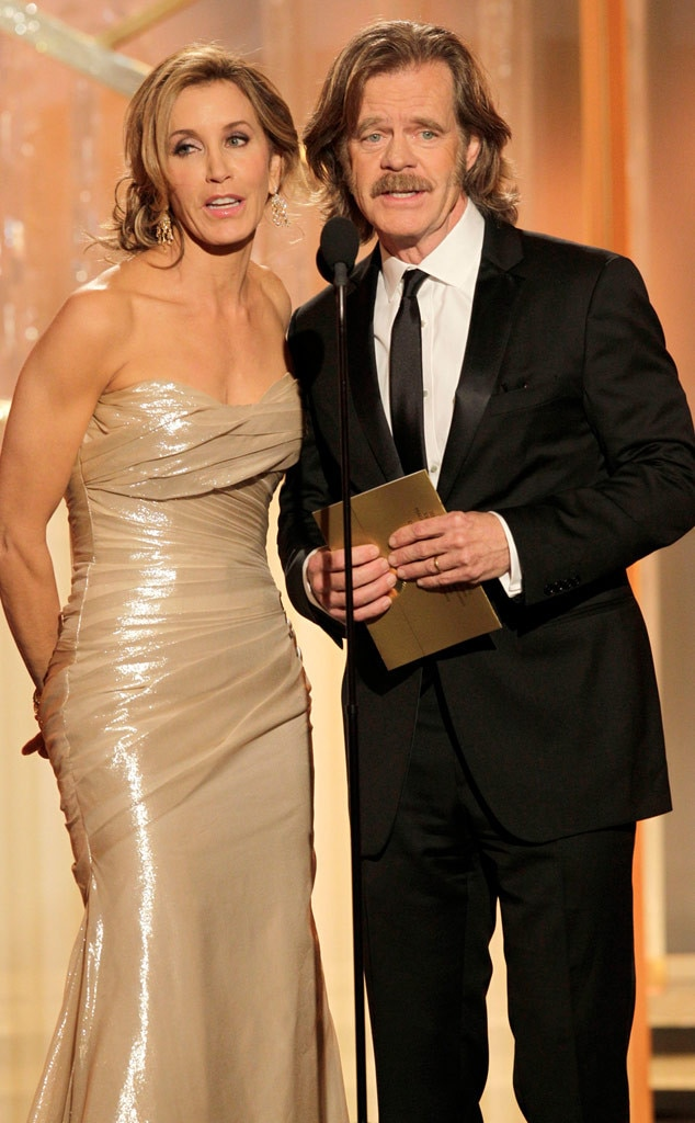Felicity Huffman, William H. Macy, Golden Globes
