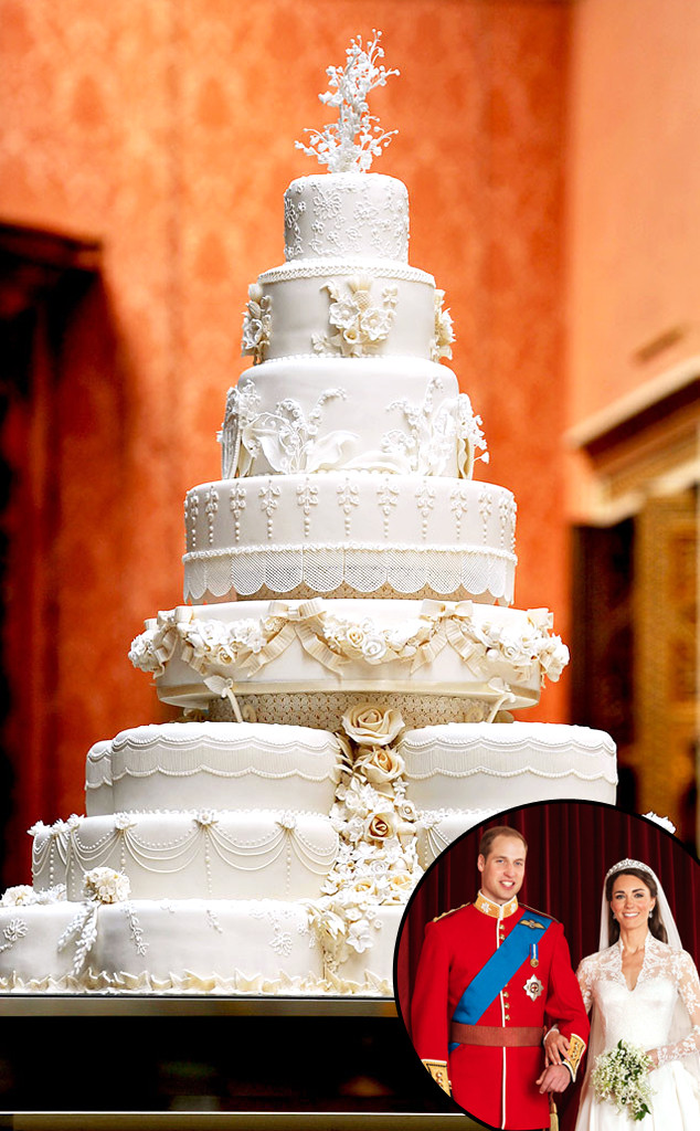 Royal Wedding Cake Prince William Duke Of Cambridge Catherine Ss