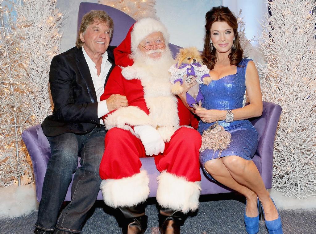 Ken Todd, Lisa Vanderpump, Santa, Giggy