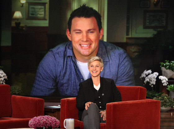 Channing Tatum, The Ellen DeGeneres Show