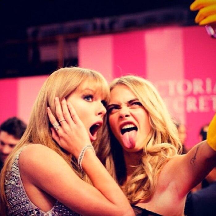 Cara Delevingne, Taylor Swift