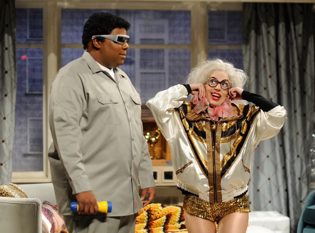 Kenan Thompson, Lady Gaga, SNL