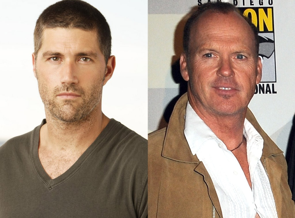Matthew Fox, Michael Keaton, Lost