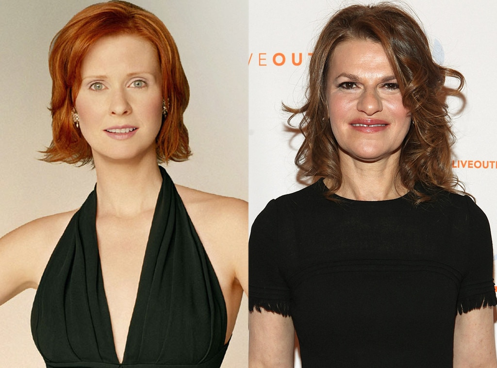 Cynthia Nixon, Sandra Bernhard, Sex and the City