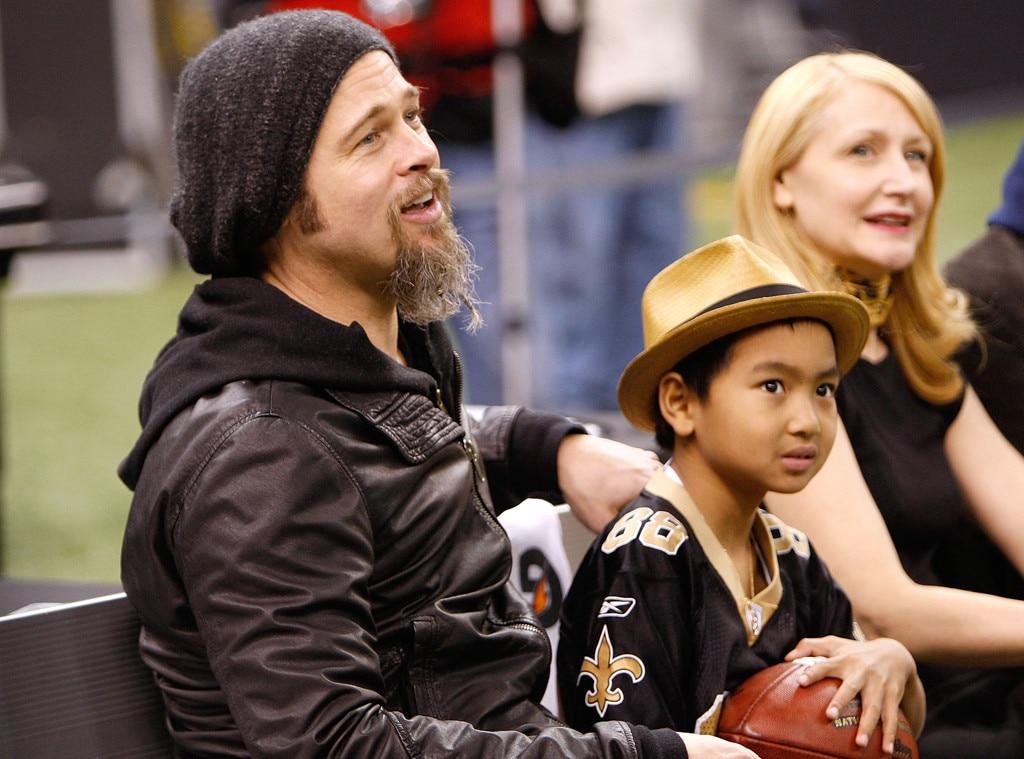 Angelina Jolie and Brad Pitt's Kids Through the Years photos