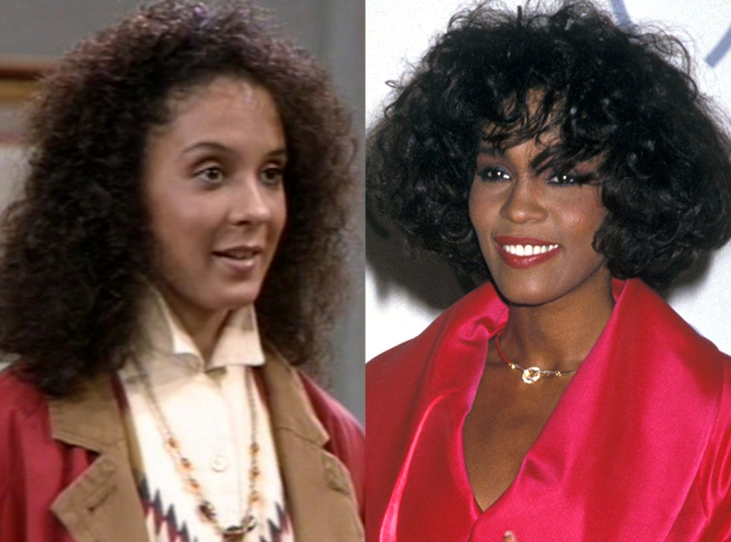 Sabrina Le Beauf, Whitney Houston, The Cosby Show