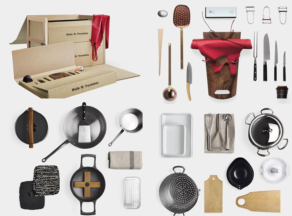 GOOP Gift Guide, Malle W. Trousseau Kitchen Set
