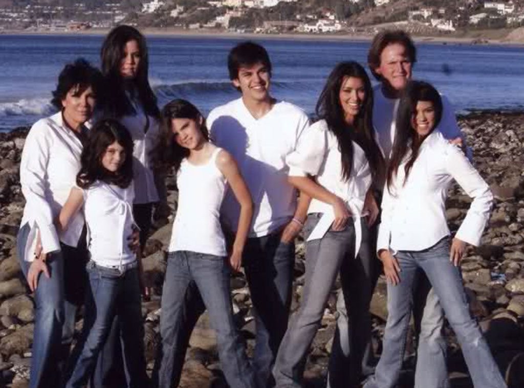 2007 from Kardashians' Christmas Cards Throughout the Years