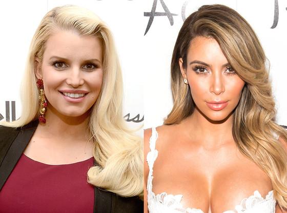 Kim Kardashian, Jessica Simpson
