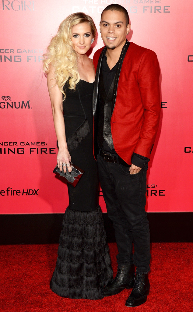 Ashlee Simpson, Evan Ross, The Hunger Games: Catching Fire