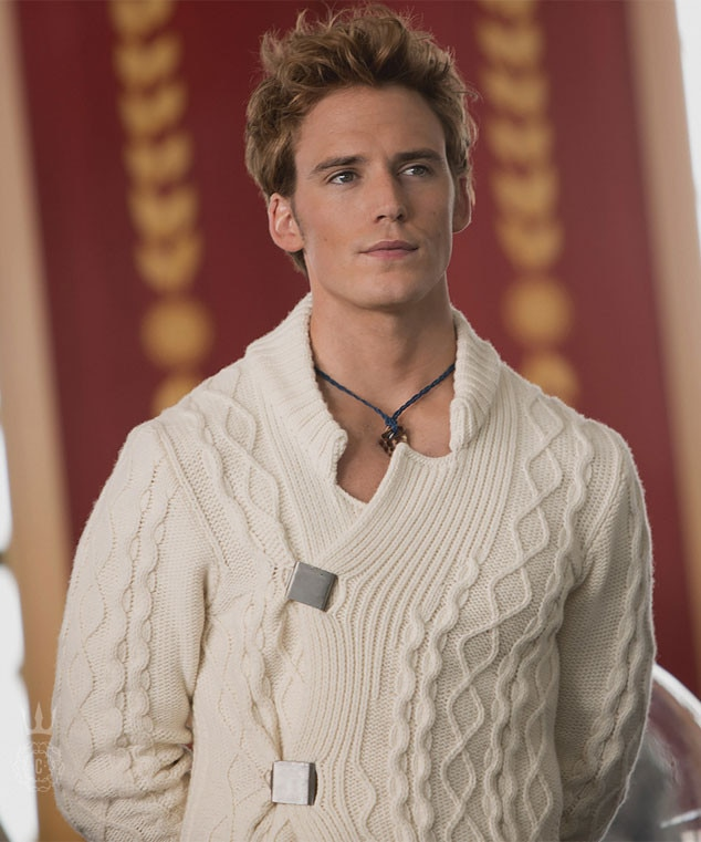 Hunger Games Catching Fire s Sam Claflin Worries Hes Not Hot Enough