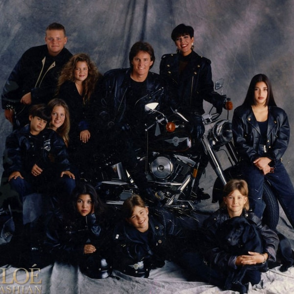Mid-1990s From Kardashians' Christmas Cards Throughout The