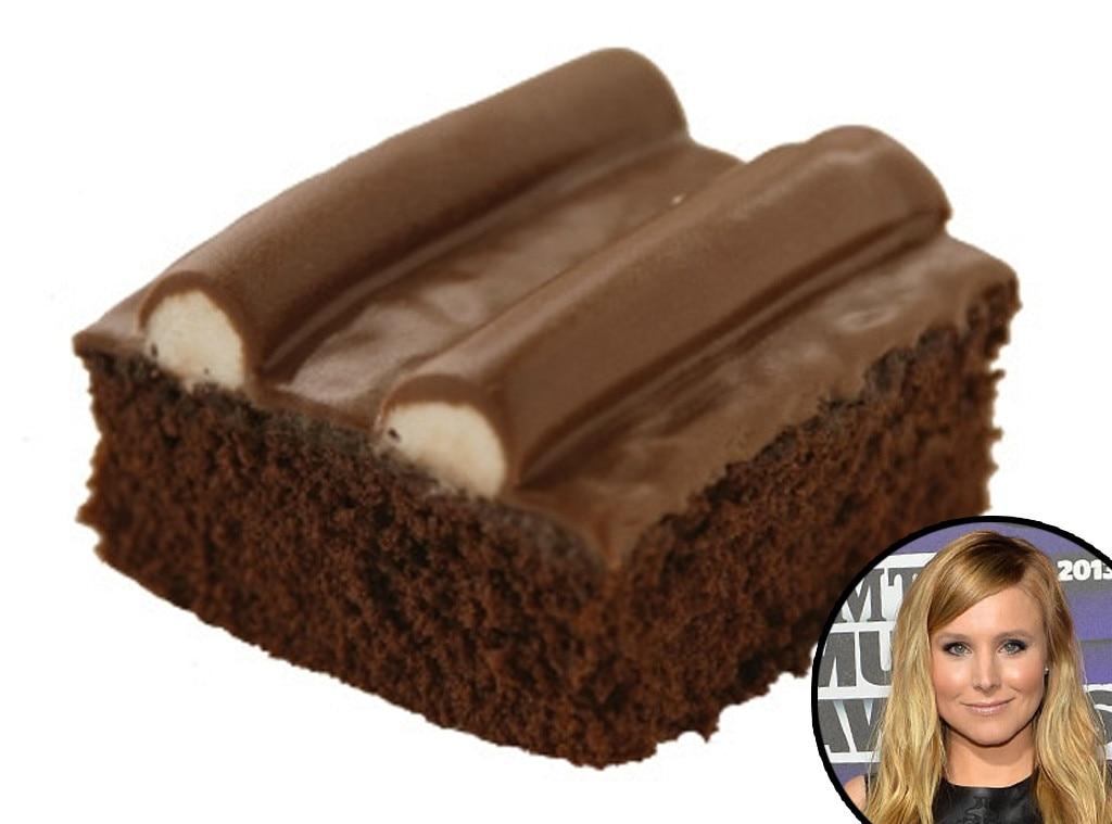 Sanders Bumpy Cake, Kristen Bell