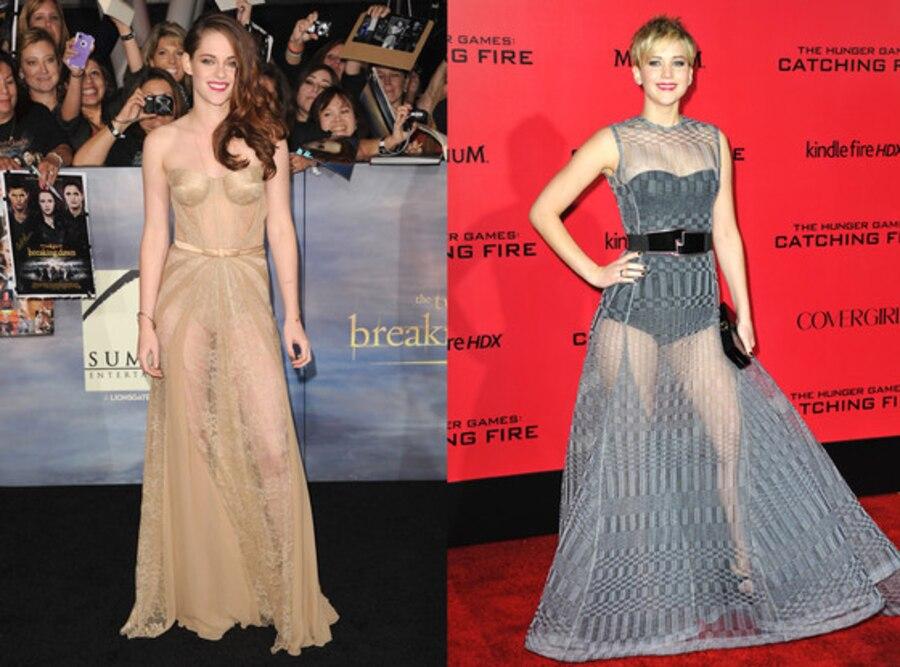 Jennifer Lawrence, Kristen Stewart