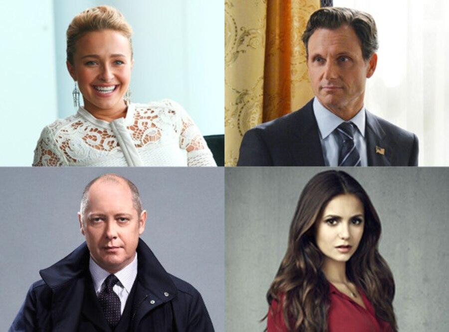 Hayden Panettiere, Tony Goldwyn, Nina Dobrev, James Spader