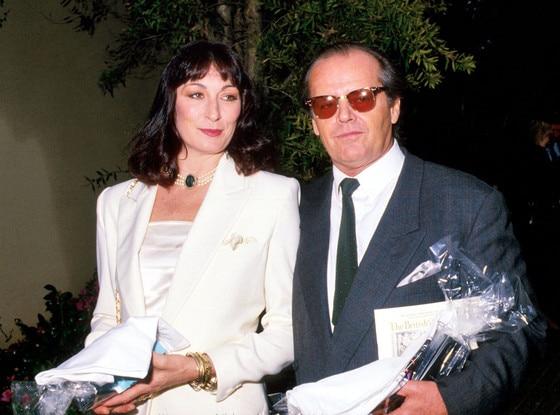 Anjelica Huston, Jack Nicholson