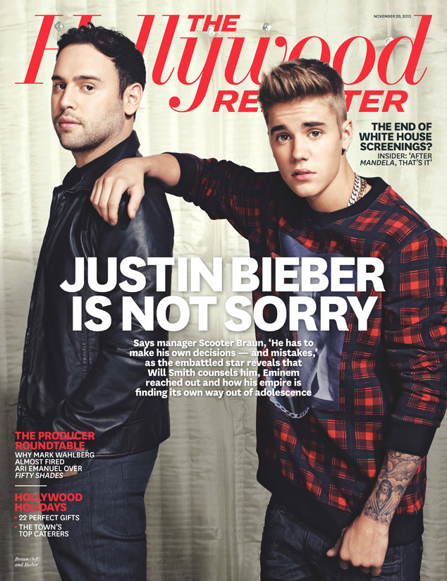 Justin Bieber, The Hollywood Reporter