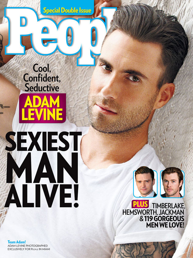 Adam Levine, People's Sexiest Man