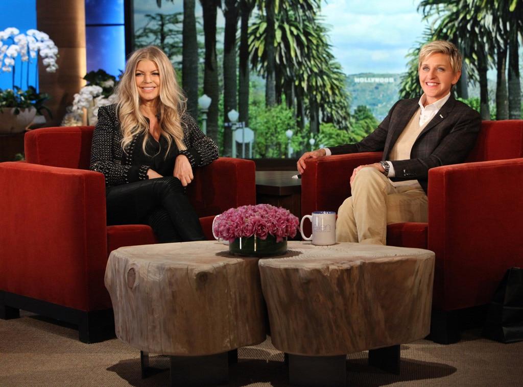 Fergie, Ellen DeGeneres Show