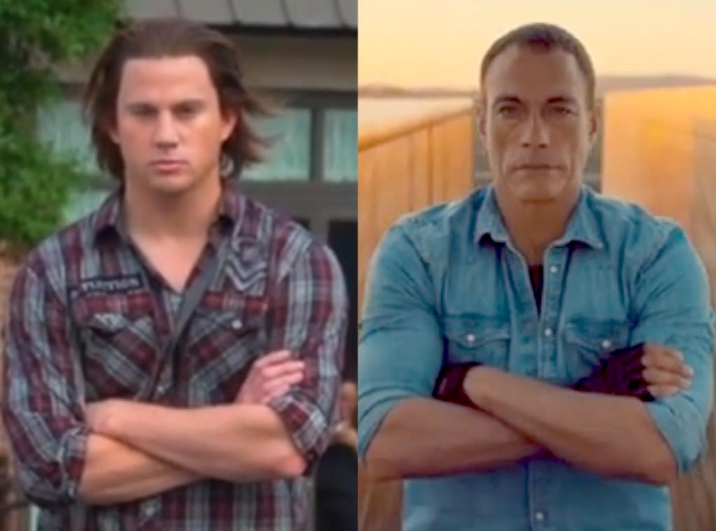 Channing Tatum, Jean-Claude Van Damme, Splits