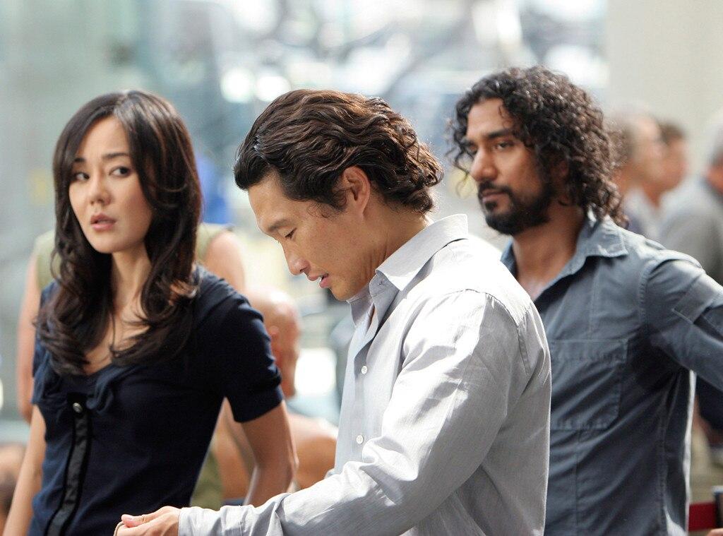 Daniel Dae Kim, Yunjin Kim, Naveen Andrews, Lost