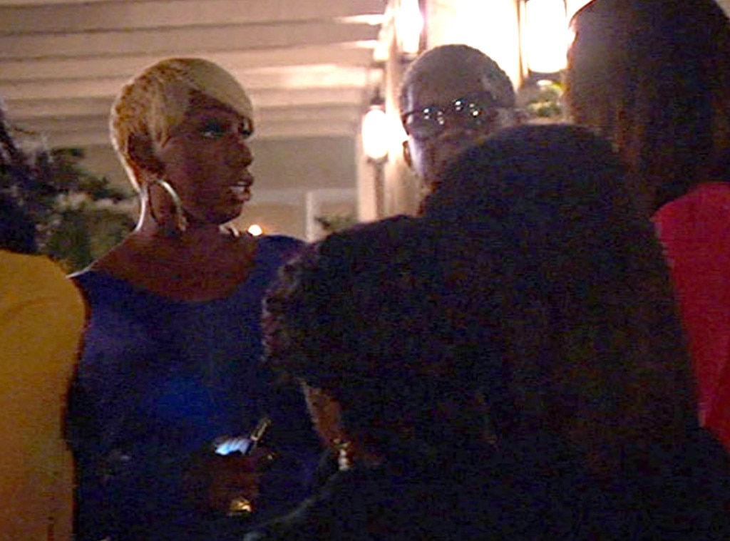 NeNe kicks out her friends who arrive late to her dinner party in Los Angeles, Real Housewives of Atlanta OMG Moments