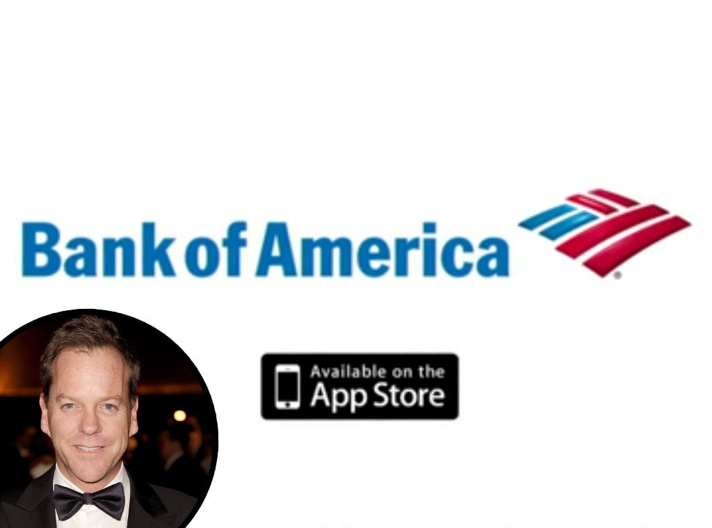 Kiefer Sutherland, Bank of America, Celebrity Voiceovers