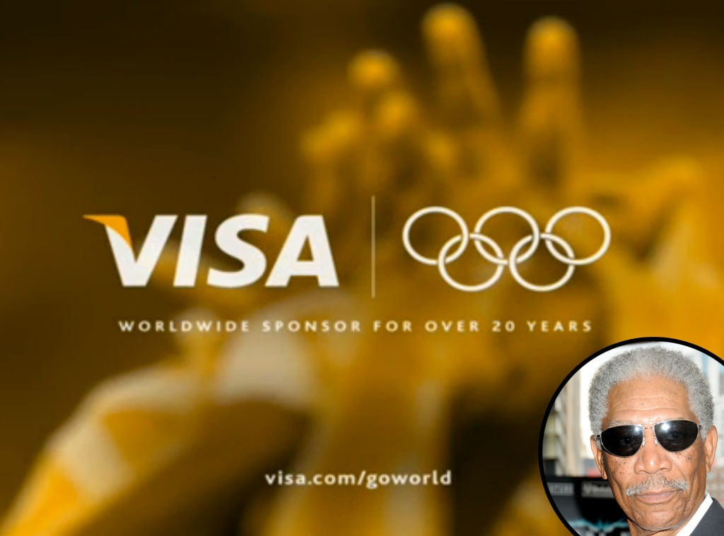 Celebrity Voiceovers, Morgan Freeman, Visa Summer Olympics