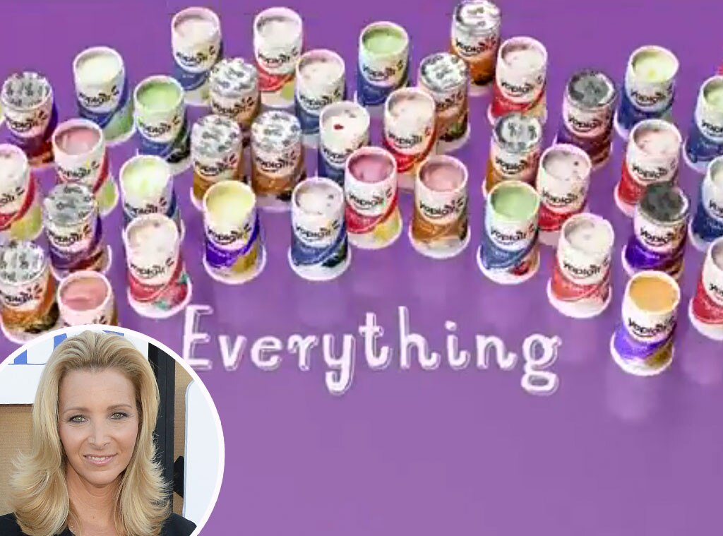 Celebrity Voiceovers, Lisa Kudrow, Yoplait
