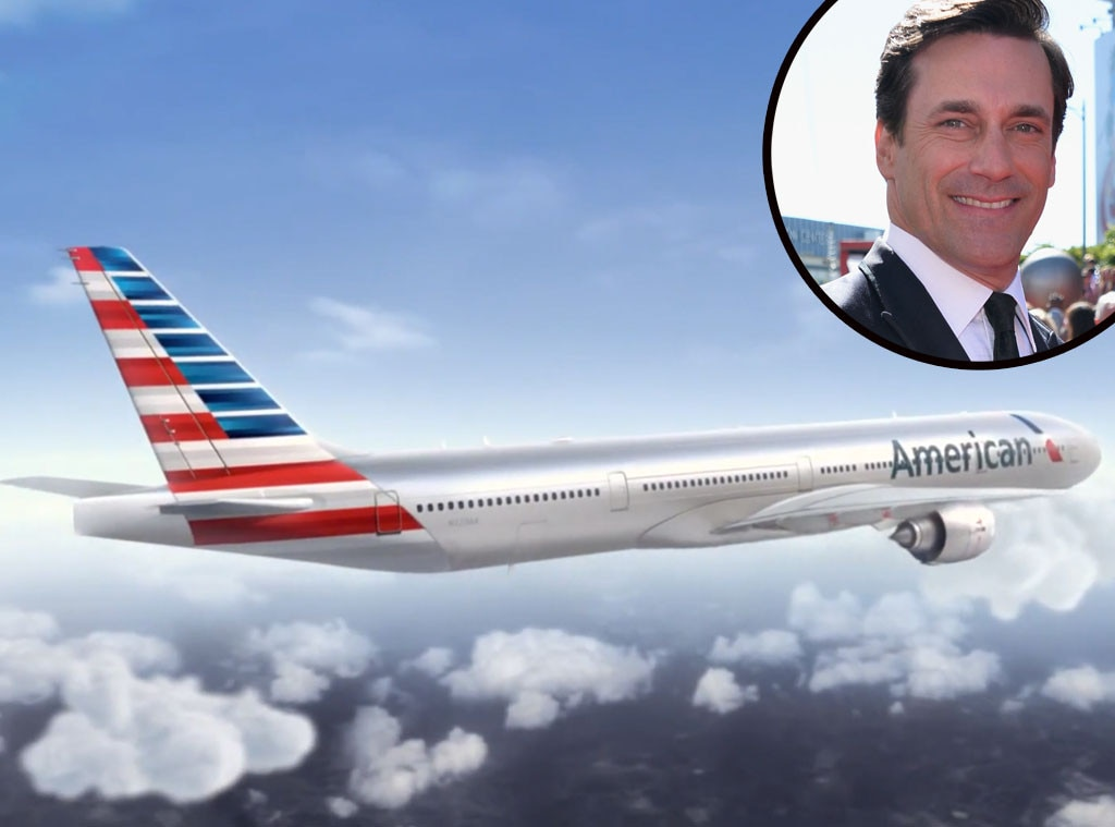 Celebrity Voiceovers, Jon Hamm, American Airlines