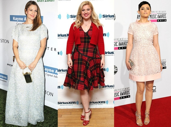 Drew Barrymore, Kelly Clarkson, Ginnifer Goodwin