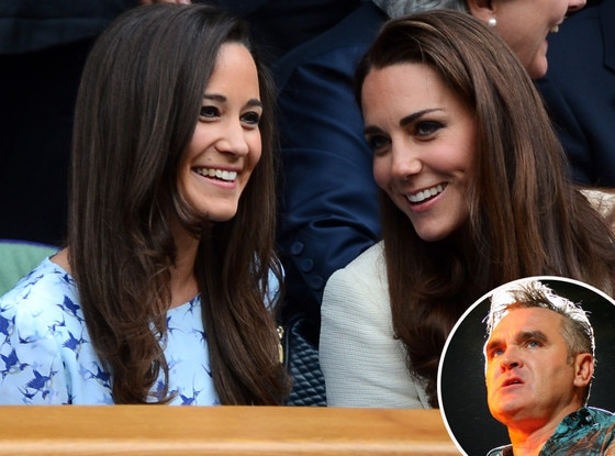 Pippa Middleton, Kate Middleton, Duchess Catherine, Morrissey
