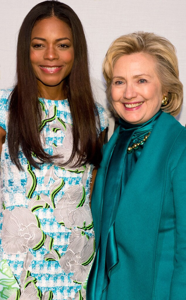 Naomie Harris, Hillary Clinton