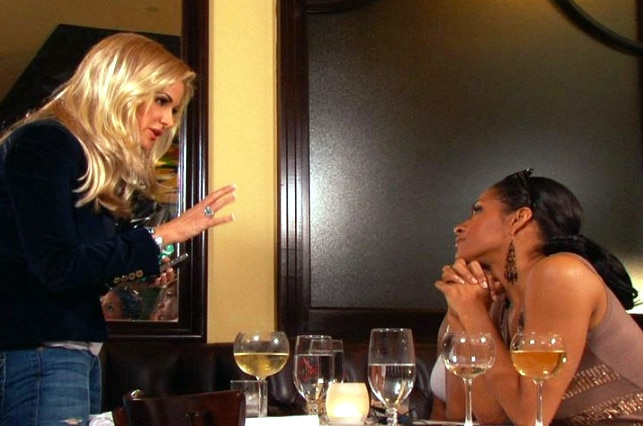 Kim and Sherees dinner nightmare, Real Housewives of Atlanta OMG Moments
